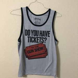 Fifth Sun Do You Have Tickets To The Show Tank Top
